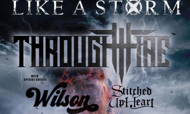 Like A Storm and Through Fire Co-Headline Firestorm Tour