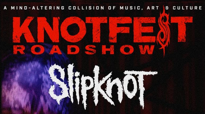 Slipknot Out On Knotfest Roadshow Tour