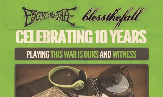 Escape The Fate and blessthefall – Review