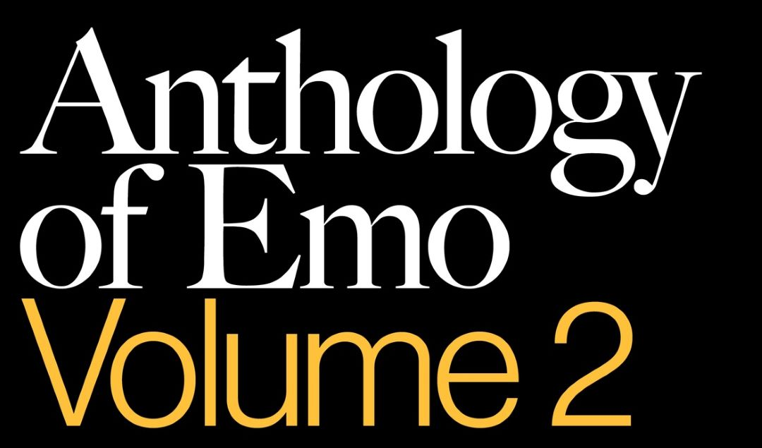 'Anthology of Emo: Volume 2' Book To Release September 2020